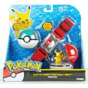 Pokemon - Kit Cinturão De Ação- Cinto Porta Pokebola - Tomy3