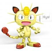 Pokemon Meowth - Mega Construx - Blocos de Montar - Mattel