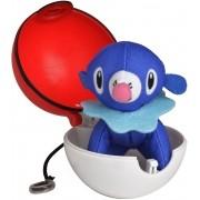 Pokémon Pop Action - Popplio + Pokebola Mundo plush Original