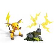 Pokemon Raichu 73pc - Mega Construx - Blocos Montar - Mattel