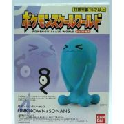 Pokemon Scale World Johto - Unown & Wobbuffet - Bandai