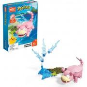 Pokemon Slowpoke 80pc - Mega Construx Blocos Montar - Mattel