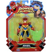 Boneco Power Players - Figura Articulada Axel 12 cm - Sunny