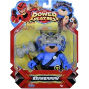 Boneco Power Players - Articulado Bearbarian 13 cm - Sunny