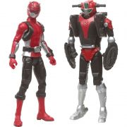 Power Rangers - Beast Morphers - Red Ranger & Cruise Beastbot - Hasbro