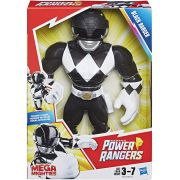 Power Rangers - Black Ranger  Mega Mighties - Playskool - HasbroE5869