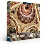 Quebra Cabeça Arte Sacra - Afrescos 500 Peças - Toyster