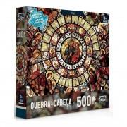 Quebra Cabeça Arte Sacra - Puzzle Vitral 500 Peças - Toyster