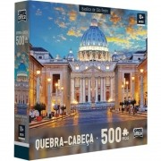 Quebra Cabeça - Basilica de Sao Pedro - 500 peças - Toyster