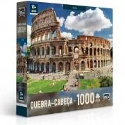 Quebra Cabeça - Coliseu Roma - 1000 Peças - Original Toyster