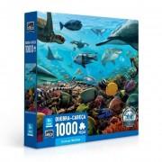 Quebra Cabeça - Criaturas Marinhas - 1000 Peças - Toyster