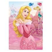 Quebra Cabeça Disney Princesa Aurora Metalizado - 200 Peças