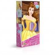 Quebra Cabeça Disney Princesa Bela Metalizado - 200 Peças