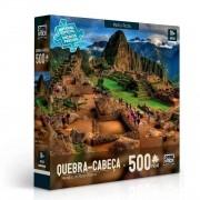 Quebra Cabeça - Machu Picchu Paisagem 500 peças - Toyster