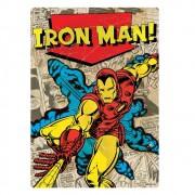 Quebra Cabeça Nano Marvel Homem de Ferro Iron Man 500 Peças