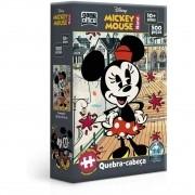 Quebra Cabeça Nano - Turma do Mickey Minnie 500 Peças