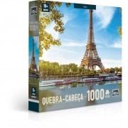 Quebra Cabeça - Paris Torre Eiffel - 1000 Peças - Toyster