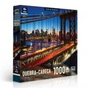 Quebra Cabeça - Ponte de Manhattan - 1000 Peças - Toyster