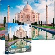 Quebra Cabeça - Taj Mahal 500 peças Mundo Moderno  - Toyster