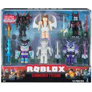 Roblox - Pack 6 Bonecos - Summoner Tycoon + Código Virtual