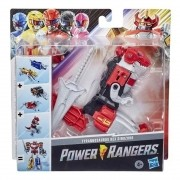 Set 5 Zords - Power Rangers Clássico Dino Megazord - Hasbro