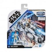 Star Wars Obi-wan Kenobi Mission Fleet  Figura e Nave Hasbro