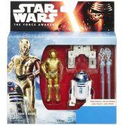 Star Wars The Force Awakens - C-3PO & R2-D2 - Hasbro B3955