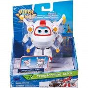 Super Wings Astro - Boneco Transformável 13cm - Original Fun