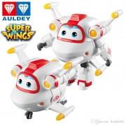 Super Wings Astro - Boneco Transformável 13cm - Original Fun