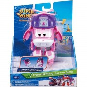 Super Wings Dizzy - Boneco Transformável 13cm - Original Fun