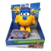 Super Wings Donnie - Boneco Transformável 13cm  Original Fun