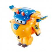 Super Wings Donnie - Mini Boneco Transformável - 6cm - Fun