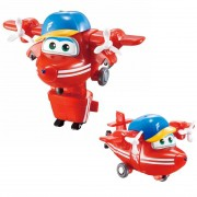 Super Wings Flip - Mini Boneco Transformável 6cm - Fun