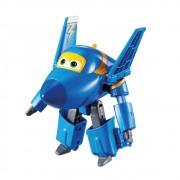 Super Wings Jerome - Mini Boneco Transformável 6cm - Fun