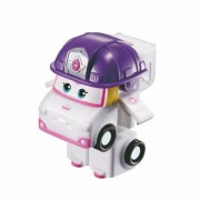 Super Wings Zoey - Mini Boneco Transformável - 6cm - Fun