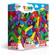 Tand Mini blocos de montar - 200 peças - Brinquedo Toyster