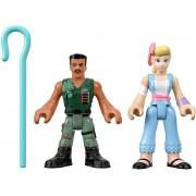 Toy Story - Bonecos - Betty e Combatente - Imaginext Disney