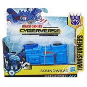 Transformers Cyberverse  - Soundwave Transformável - Hasbro
