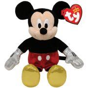 Ty Beanie Babies - Pelúcia Mickey Mouse - 20 cm - Original