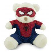 Ursinho Fantasia de Super-Heróis - Homem Aranha 30cm - Original Toybrink
