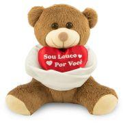 Urso de Pelúcia - Sou Louco Por Você  - 30 cm - Escolha Sua Cor - Toybrink