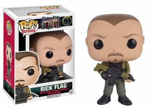 Boenco Funko Pop! Heroes - Suicide Squad 99 - Rick Flag
