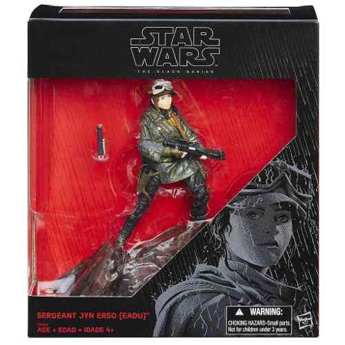 Star Wars - The Black Series - Sergeant Jyn Erso ( Eadu ) - Hasbro