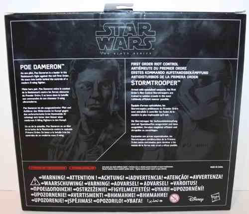 Star Wars - The Black Series - Poe Dameron & Stormtrooper - Hasbro