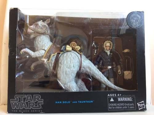 Star Wars - The Black Series - Han Solo E Tauntaun - ( Hasbro )