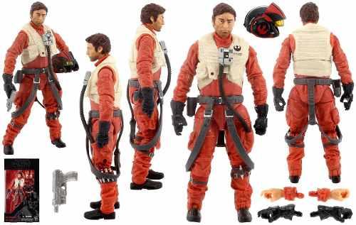 Star Wars The Black Series - Poe Dameron ( 07 ) - Hasbro