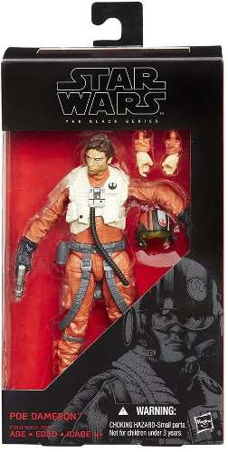 Star Wars The Black Series - Poe Dameron ( 07 ) - Hasbro