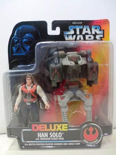 Star Wars - Deluxe Figura - Han Solo - Hasbro