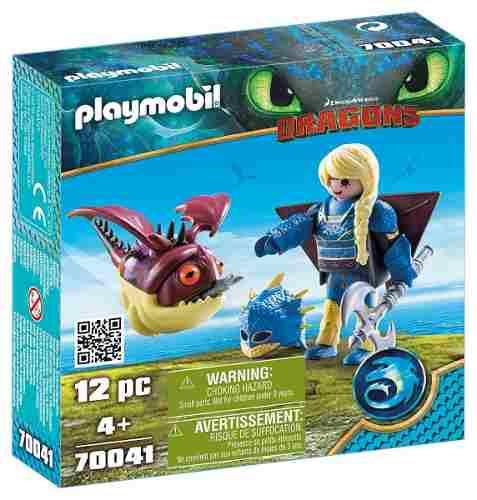 Playmobil Como Treinar Seu Dragão 3 Astrid E Hobgobbler