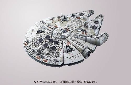 Star Wars - Millennium Falcon - The Force Awakens  - Kit De Montar - Bandai